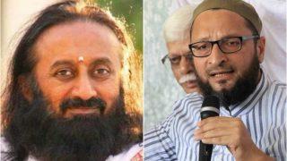 ओवैसी की पार्टी ने श्रीश्री रविशंकर के खिलाफ दर्ज करवाई एफआईआर