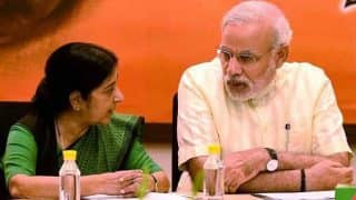 Remembering Sushma Swaraj: PM Modi Pays Tribute to Forgone Leader Who Was 'India's Voice at World Stage'