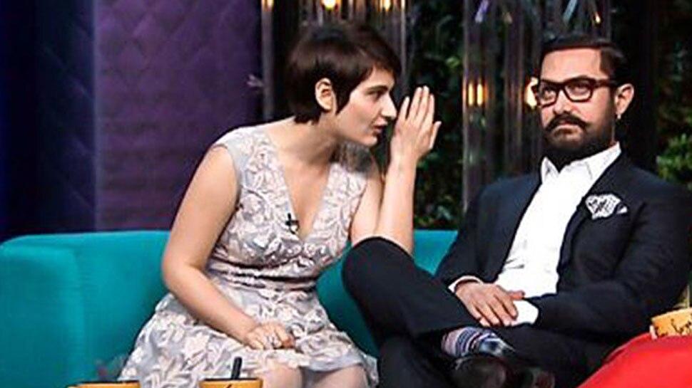आमिर खान के साथ फातिमा सना शेख
