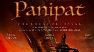 Panipat Teaser Poster : Get Ready To See Sanjay Dutt, Arjun Kapoor And Kriti Sanon's Story Of The Maratha Warriors On December 6, 2019
