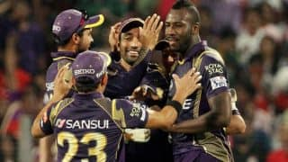 Andre Russel Practices Slog Hits For Kolkata Knight Riders Ahead of Indian Premier League 2018