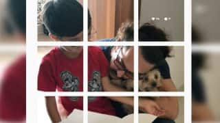 Aamir Khan's Adorable Moment With Son Azad And His Pet On Instagram Cannot Be Missed