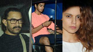 Aamir Khan, Kangana Ranaut, Ishaan Khatter Visit Boney Kapoor's Residence To Condole Sridevi's Death