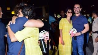 Aamir Khan, Kiran Rao Share A Passionate Kiss At The Airport And During Birthday Celebrations (VIDEO)