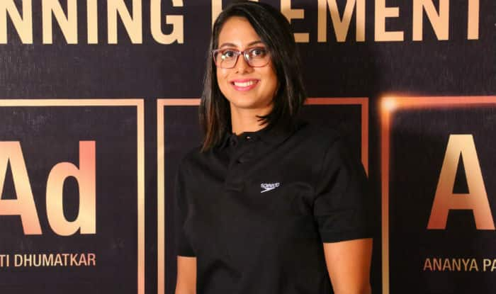 Aditi Dhumatkar of Team Speedo
