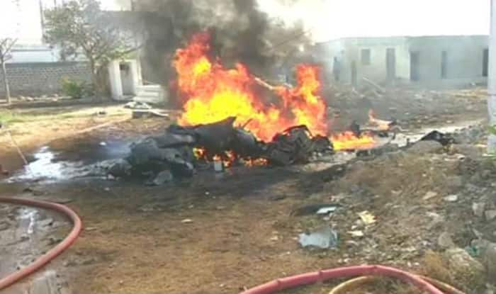 Indian Navy's Remotely Piloted Aircraft crashes near Porbandar. (File image/ANI)