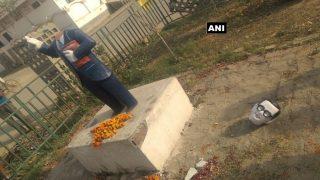 BR Ambedkar's Statue Vandalised by Miscreants in Allahabad's Jhunsi