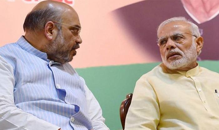 PM Narendra Modi and BJP president Amit Shah.