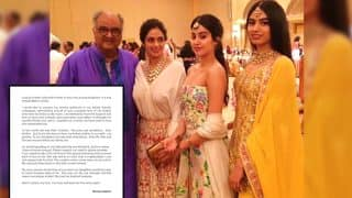 Boney Kapoor's Emotional Note On Losing Sridevi: To The World, She Was Their Chandni, To Me She Was My Love, Friend, Mother To Our Girls
