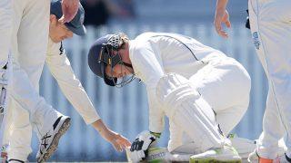VIDEO: जिस गेंदबाज की बाउंसर ने ली थी फिल ह्यूज की जान, उसी की गेंद से हुआ बड़ा हादसा
