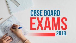 CBSE Class 12 Maths Board Exam Was Easy But Lengthy