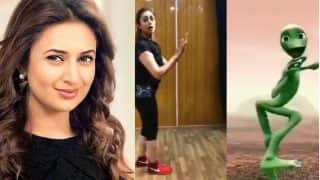 Yeh Hai Mohabbatein's Divyanka Tripathi Does The Alien Dance For Husband Vivek Dahiya And Your Weekend Cannot End Without Watching It (VIDEO)