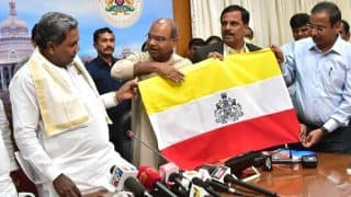 Karnataka Assembly Election 2018: CM Siddaramaiah Unveils Design of New State Flag
