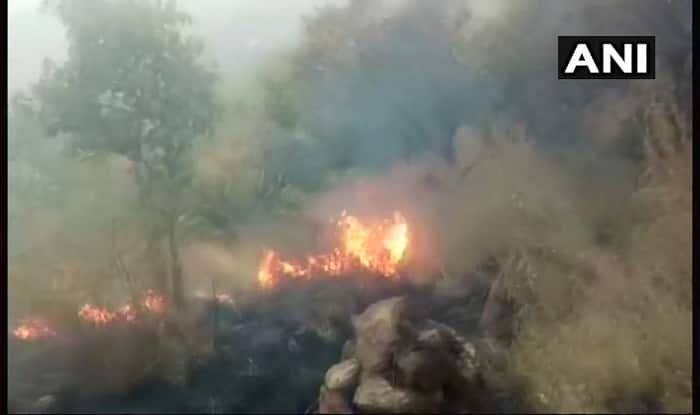 Wildfire raged for 3 days and forest officials let trekkers in?