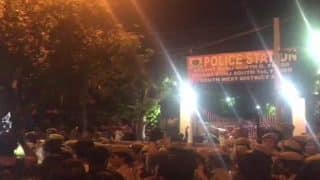 JNU Students, Demanding Arrest of Professor Accused of Sexual Misconduct, Clash With Delhi Cops Outside Police Station