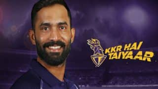IPL 2018: Dinesh Karthik Appointed Kolkata Knight Riders Captain; Robin Uthappa His Deputy
