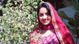 Diya Aur Baati Hum Fame Deepika Singh Wishes Her Fans Happy Gangaur - View Post