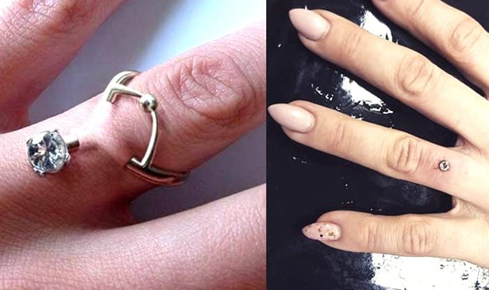 rings just risky rage wedding or plain all the piercing finger piercings