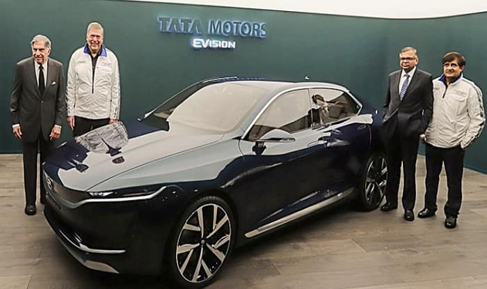 World Class Motors >> Tata E-Vision Sedan Concept Might Hit The Road in 2020-22 if Project is Approved - India.com