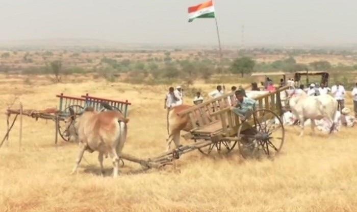 200 farmers 'reclaim' land from Nirav Modi