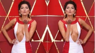 Oscars 2018: Blanca Blanco Risks Wardrobe Malfunction by Wearing Risque Satin Gown At 90th Academy Awards