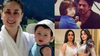 Shah Rukh Khan -AbRam, Kareena Kapoor Khan-Taimur, Sridevi-Janhvi Kapoor - 7 Pictures That Will Make You Say OMG!