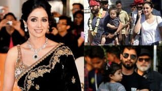 Sridevi Wrapped In Tricolour, Taimur Ali Khan Chills In Rajasthan, Shahid Kapoor - Misha's Adorable Moment At The Aiport Feature In This Week's Viral Pics