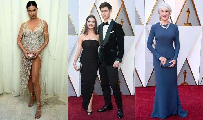 oscars 2018 most awkward wardrobe malfunctions at the
