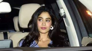 Janhvi Kapoor, Sridevi's Elder Daughter, Looks Super Hot as Paparazzi Spot Her Outside Gym