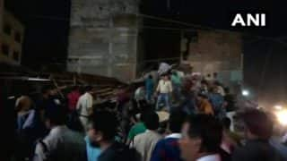 Madhya Pradesh: Four-Storey Building Collapses Near Sarwate Bus Stand in Indore, 3 Killed, Several Feared Trapped