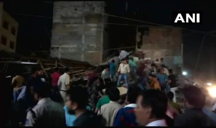 Four-storey building collapses in Indore 9 killed, several still trapped