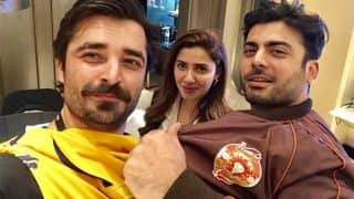 Fawad Khan And Mahira Khan Coming Together For A Project Again? See Pic