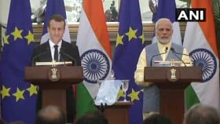 Narendra Modi, Emmanuel Macron Sign 14 Agreements; PM Welcomes Investments From France in Defence Sector Under Make in India