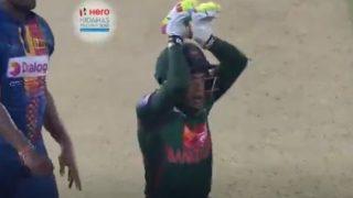 निदाहस ट्रॉफी: मैच के बाद नागिन डांस करने लगे मुश्फिकुर, देखें VIDEO