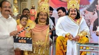 NTR Biopic Launched At A Grand Ceremony; Nandamuri Balakrishna Reveals Why They Chose March 29 For The Event (PICS)