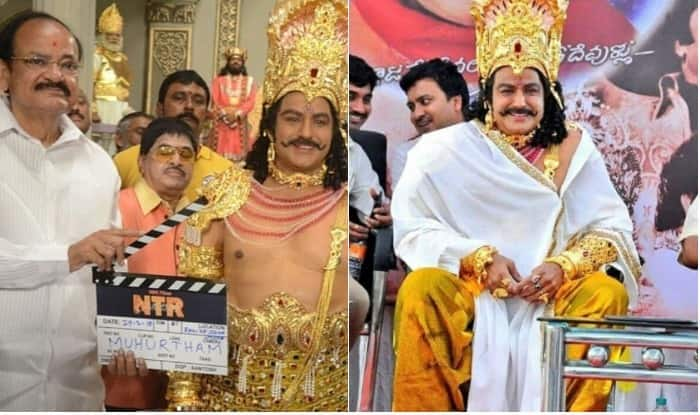 BIOPICS ON NTR AN ELECTION CAMPAIGN