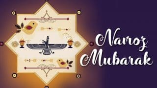 Navroz 2019: Know All About Date, History And Significance of Parsi New Year