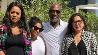 Masaba Gupta Surprises Her Dad, Viv Richards, On His 66th Birthday With Mum Neena Gupta And Shares A Beautiful Family Reunion Picture
