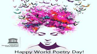 विश्व कविता दिवसः अपनों के लिए एक कविता जरूर लिखें...