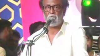 Rajinikanth Delivers First Speech After Political Plunge, Says Will Fill The Void in Tamil Nadu Left by Jayalalithaa