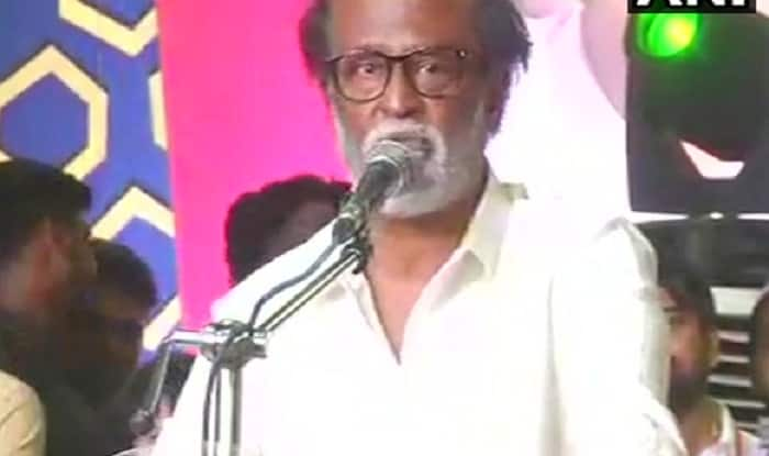 Rajinikanth Delivers First Speech After Political Plunge, Huge Crowd Present