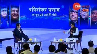 Zee India Conclave: BJP Will Win 2019 Lok Sabha Elections With Full Majority, Says Ravi Shankar Prasad