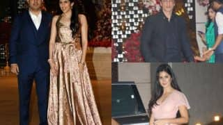 Akash Ambani - Shloka Mehta's Post Engagement Party: Aishwarya Rai Bachchan, Aaradhya, Shah Rukh Khan, Katrina Kaif And More Arrive To Congratulate The Couple (VIEW PICS)