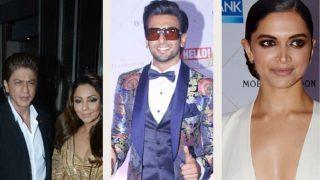 Hello Hall Of Fame Awards 2018 : Deepika Padukone, Shah Rukh Khan-Gauri Khan, Ranveer Singh Dazzle With Their Stylish Avatars - View Pics