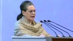 Congress Won't Ever Cower Down Before BJP's Tactics to Destroy Party: Sonia Gandhi at Plenary Session