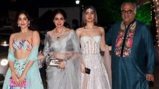 Boney Kapoor Along With Daughters Janhvi Kapoor And Khushi Kapoor Immerse Sridevi's Ashes In Rameswaram - See Pic