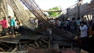 Uttar Pradesh: Six Labourers Rescued, Several Others Trapped as Roof of Under-construction Building Collapses in Bulandshahr
