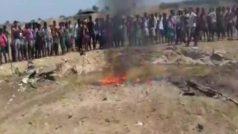 Indian Air Force Hawk Trainer Jet Crashes in Odisha's Mayurbhunj, Pilot Injured