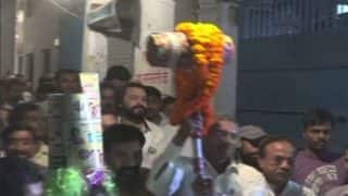 Holi 2018: Hatoda Baraat Taken Out in Allahabad Ahead of the Hindu Festival of Colours