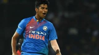 वॉशिंगटन सुंदर ने तोड़ा वकार का रिकॉर्ड, ऐसा करने वाले पहले भारतीय गेंदबाज बने